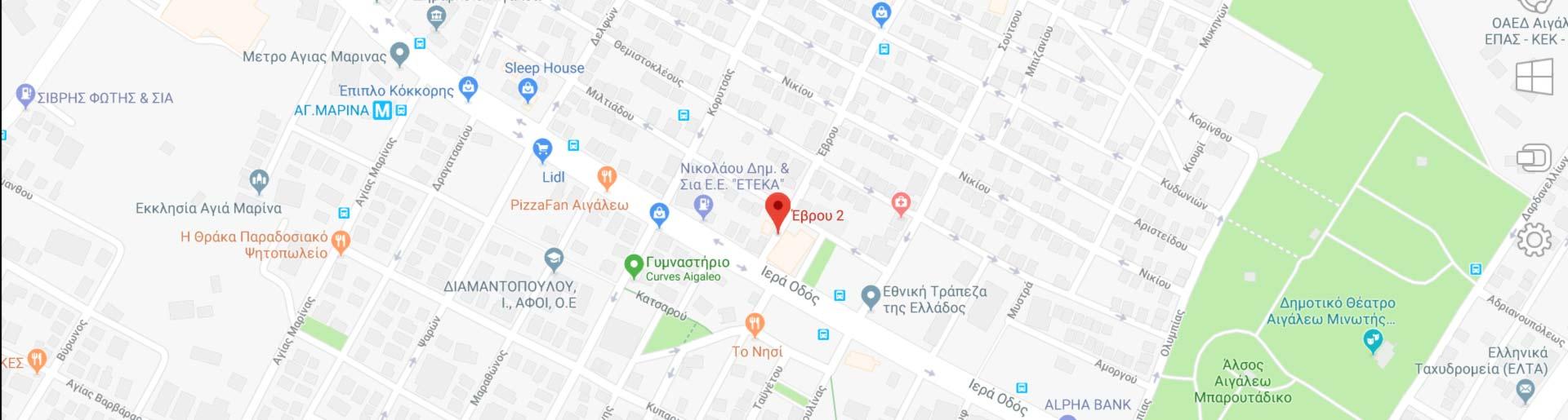 ΚΑΝΤΕ Click ΓΙΑ ΝΑ ΜΕΤΑΦΕΡΘΕΙΤΕ ΣΤΟ Google Maps